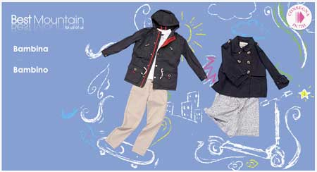 best mountain abbigliamento bambino