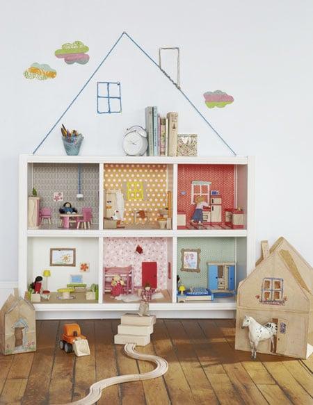 Costruisci una casetta per bambole fai da te - Ikea casa bambole ...