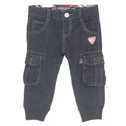 pantalone bambino con polsino