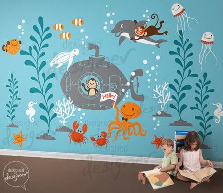 decorazione camera bambini
