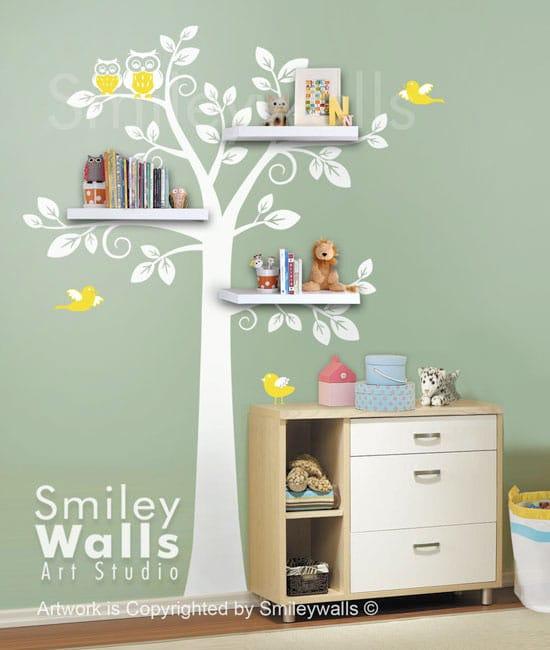 Molto Decorazioni per le pareti della camera dei bambini: adesivi per la  WK97