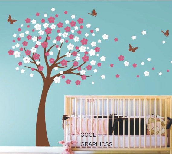 Decorazioni per le pareti della camera dei bambini - Decorazione parete cameretta ...