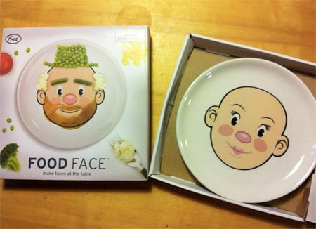 foodface piatto bambini