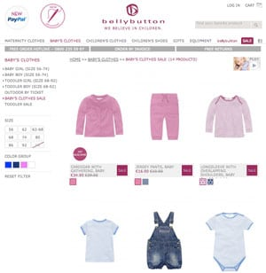 bellybutton abbigliamento bambino