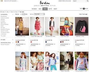 negozio on line abbigliamento