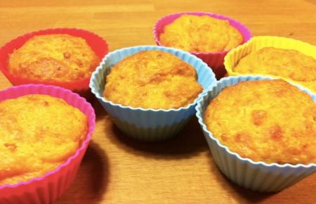 muffin con banana senza zucchero