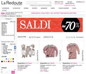 i migliori shop online per abbigliamento bambini saldi 2013 14. Black Bedroom Furniture Sets. Home Design Ideas