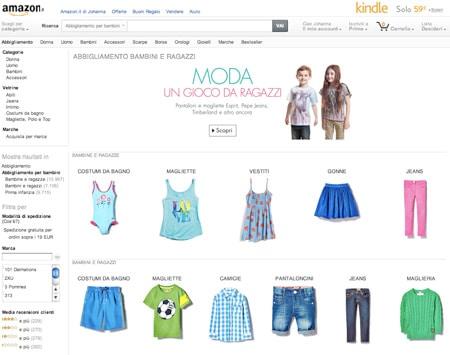 abbigliamento bambina amazon