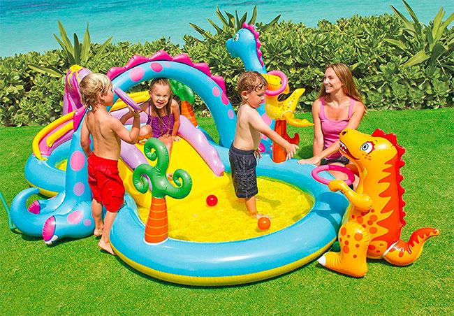 Le 10 pi belle e divertenti piscine gonfiabili per bambini - Piscine gonfiabili per bambini ...