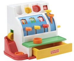 registratore cassa fisher price