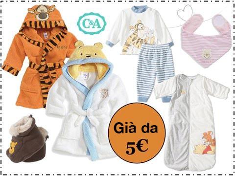 winnie the poo abbigliamento bambino