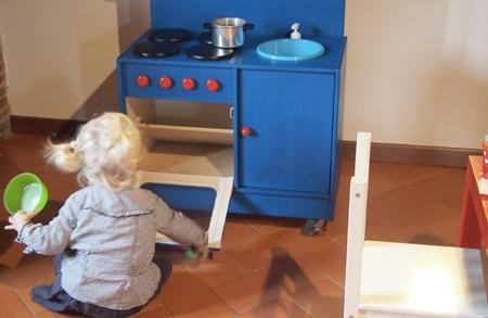 cucina per bambini