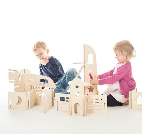 casa bambole legno waldorf