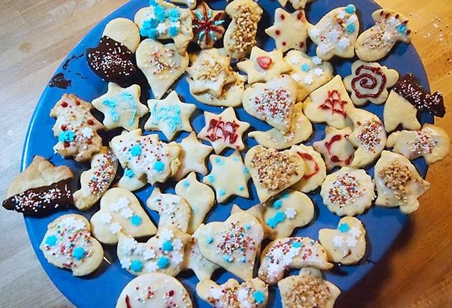 Biscotti Di Natale X Bambini.Ricetta Biscotti Natale Bambini