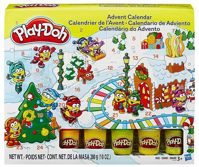 calendari avvento playdoh
