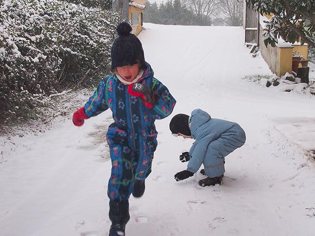 neve bambini